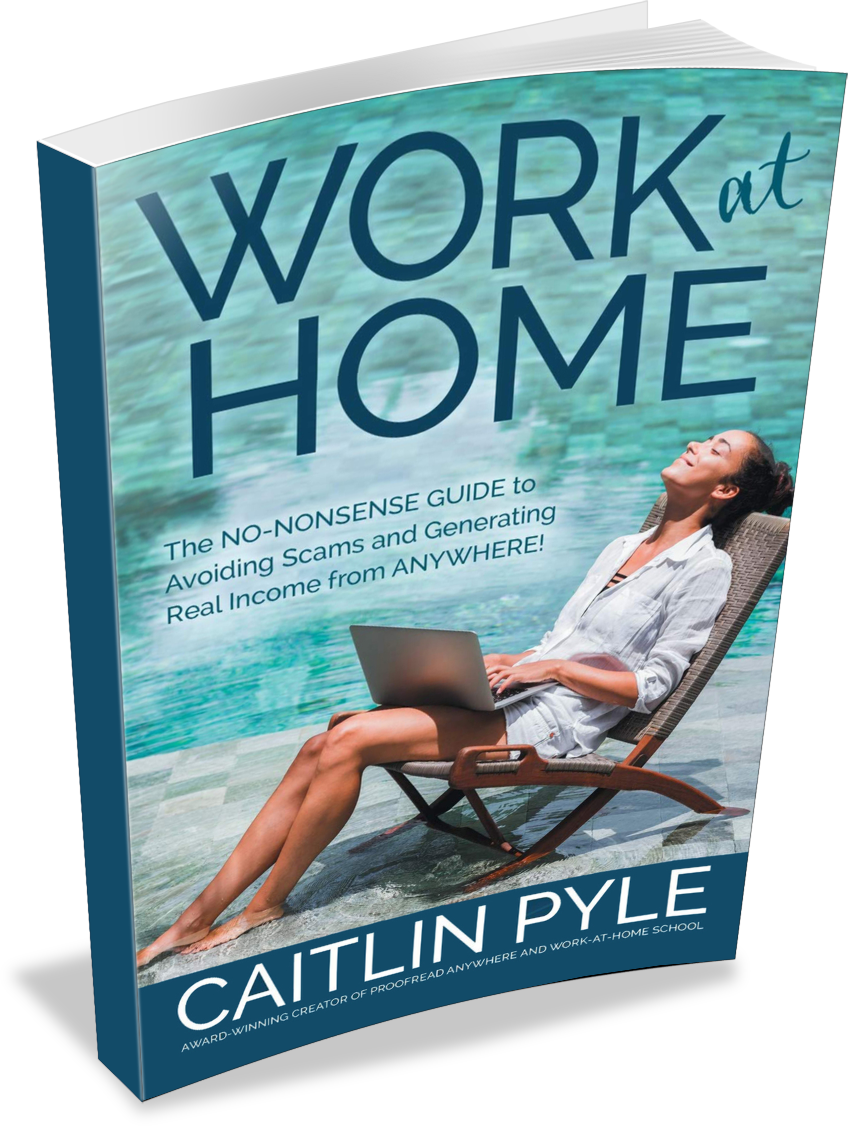 Get the book Work at Home for FREE - you just pay shipping!